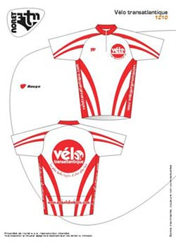 Your custom Autun Bike Tours cycling jersey