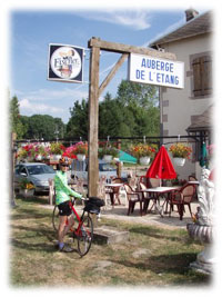Auberge french bike tour